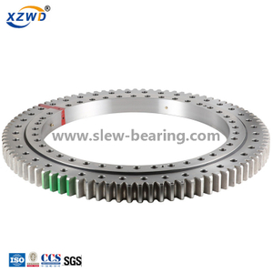 Light large diameter with geared OEM slewing ring bearing