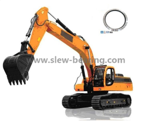 Hardened Internal Gear Four Point Contact Ball Slewing Ring for Excavator