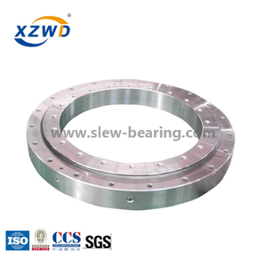 High Speed Large Diameter Slewing Ring Bearing without Gear for Ladle Turret