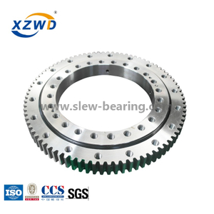 Good Quality Stocked Min Diameter Ball Slewing Bearing External Gear for Jib Crane