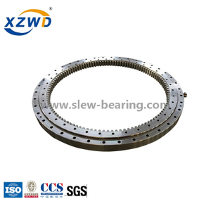 Single-row spherical type(01 series) Four point contact Turntable Slewing ring Bearing manufacturer